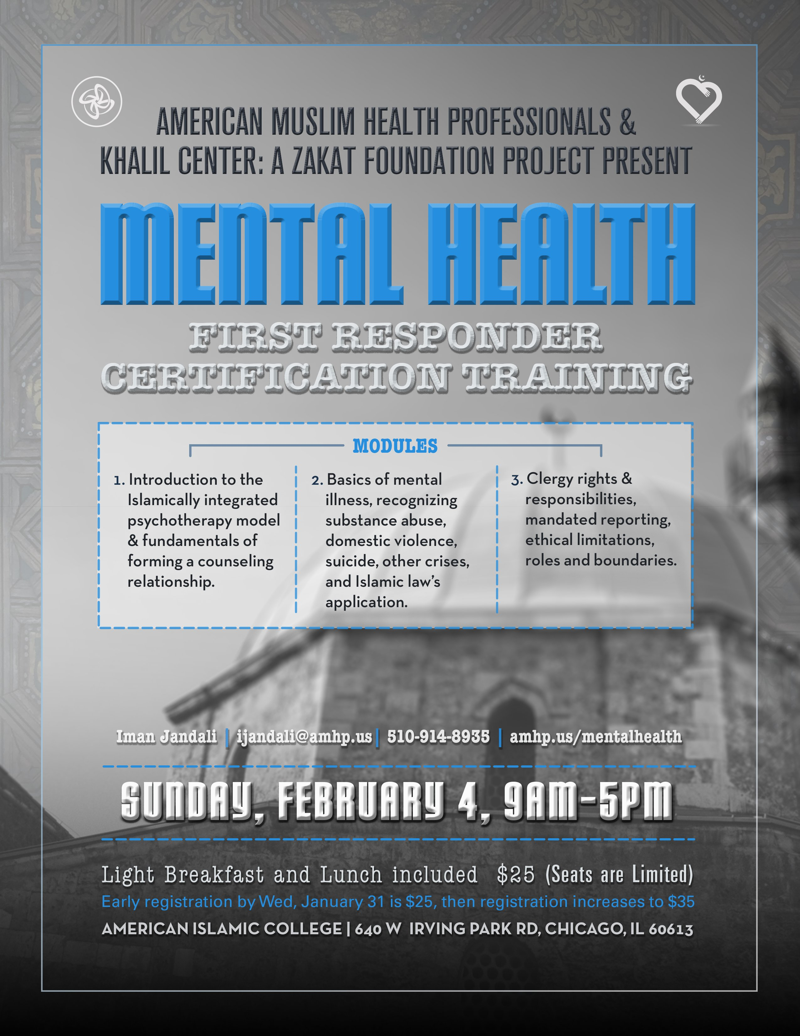 Muslim mental health first reponse certification khalil center xflitez Gallery