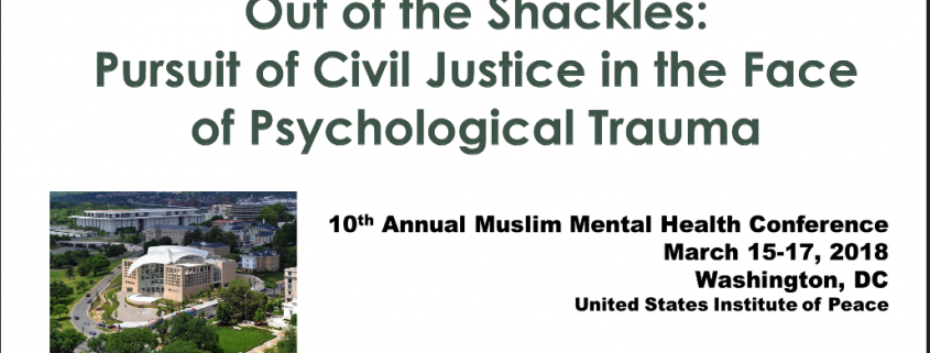 Muslim Mental Health First Response Certification @ 10th Annual ...